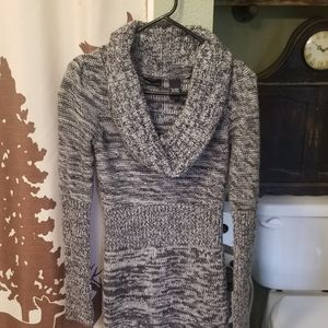 moda international cowl neck dress